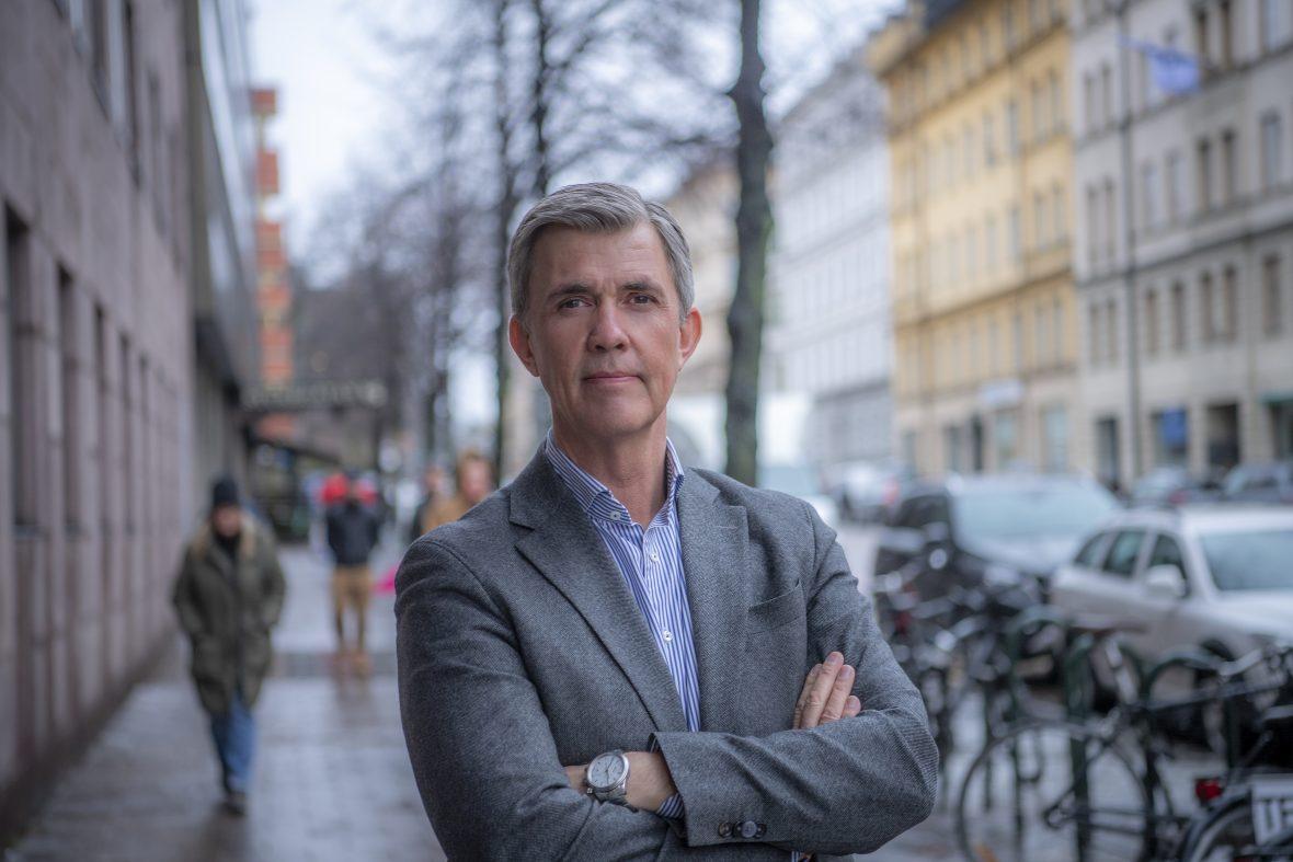 Kompetensföretagens förbundsdirektör Patrik Eidfelk