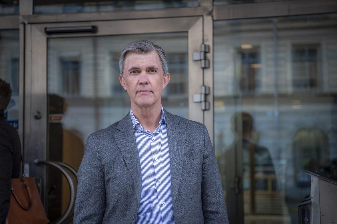 Debattör Patrik Eidfelt, förbundsdirektör Kompetensföretagen